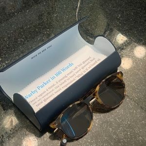 Warby Parker Downing Tortoise Sunglasses